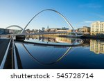 newcastle  england   december... | Shutterstock . vector #545728714