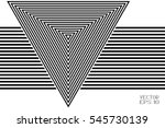 abstract black and white... | Shutterstock .eps vector #545730139