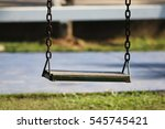 old swing | Shutterstock . vector #545745421