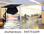 very blurry campus of... | Shutterstock . vector #545751649