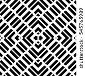 repeated black geometric... | Shutterstock .eps vector #545765989