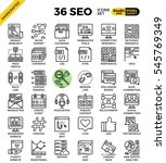 seo   search engine...   Shutterstock .eps vector #545769349