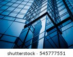 low angle view of skyscrapers... | Shutterstock . vector #545777551
