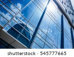low angle view of skyscrapers... | Shutterstock . vector #545777665