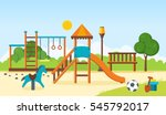 concept illustration   kids... | Shutterstock .eps vector #545792017