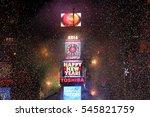 new york dec 31  general...   Shutterstock . vector #545821759