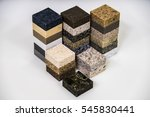 kitchen counters  samples ... | Shutterstock . vector #545830441