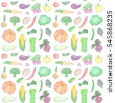 raster seamless pattern of... | Shutterstock . vector #545868235