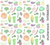 raster seamless pattern of... | Shutterstock . vector #545868235