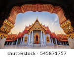 the marble temple  wat... | Shutterstock . vector #545871757