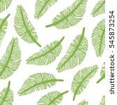 tropical trendy seamless... | Shutterstock .eps vector #545873254