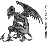 demon | Shutterstock .eps vector #545874697