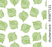 seamless pattern with hand... | Shutterstock .eps vector #545877121