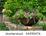 Flower Pot Or Planter With...