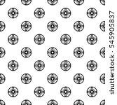 round shield pattern. simple... | Shutterstock .eps vector #545905837