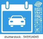 car calendar day pictograph...   Shutterstock . vector #545914045