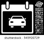 car calendar day pictograph...   Shutterstock . vector #545920729