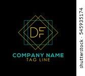 df logo   Shutterstock .eps vector #545935174