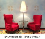 couples of lover chairs | Shutterstock . vector #545949514