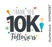 thank you design template for... | Shutterstock .eps vector #545960587