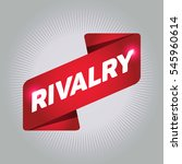 rivalry arrow tag sign. | Shutterstock .eps vector #545960614