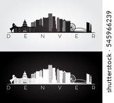 denver usa skyline and...