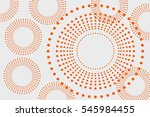 circles background round dots... | Shutterstock . vector #545984455