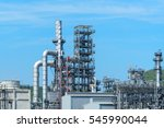power plant tube blue sky ... | Shutterstock . vector #545990044