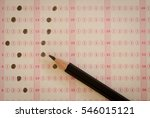 close up pencil drawing... | Shutterstock . vector #546015121