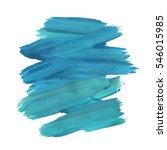 blue turquoise motion... | Shutterstock .eps vector #546015985