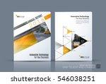 business vector. brochure... | Shutterstock .eps vector #546038251