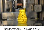 3d printer printing objects... | Shutterstock . vector #546055219