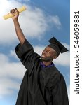 young man in his graduation... | Shutterstock . vector #546059881