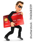 3d thief with a stolen credit...