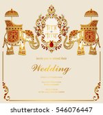 Indian Wedding Card Free Vector Art 29623 Free Downloads