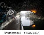 Graffiti On An Underpass  ...