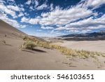 Panoramic View Of Desert...