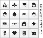 set of 16 editable game icons....