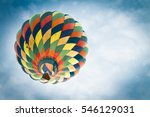 Soft Focused Colorful Hot Air...