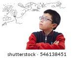A Boy Is Thinking