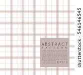 Fabric Pattern. Plaid. Vector...