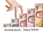 money bills growing like a...   Shutterstock . vector #546179959