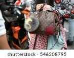 paris july 8  2015. details of... | Shutterstock . vector #546208795