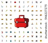 toolbox icon illustration... | Shutterstock .eps vector #546227275