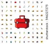 toolbox icon illustration... | Shutterstock .eps vector #546227275