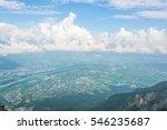 aerial view of liechtenstein... | Shutterstock . vector #546235687