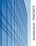 glass windows of a modern... | Shutterstock . vector #54623674
