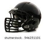 rugby helmet on white background | Shutterstock . vector #546251101