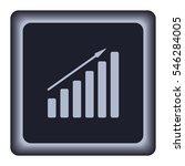 growth diagram vector icon   Shutterstock .eps vector #546284005