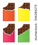 vector collection of opened... | Shutterstock .eps vector #546284275
